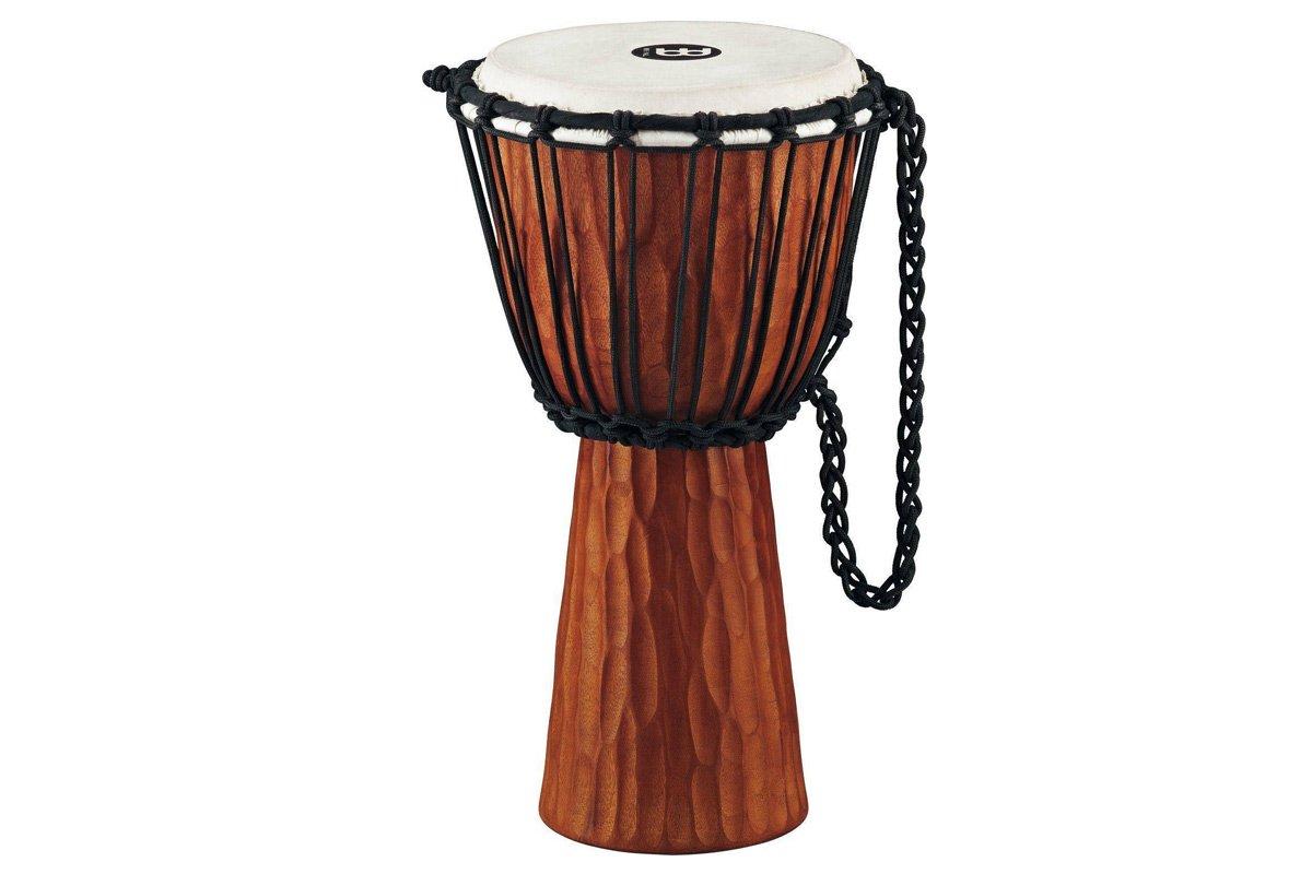 mahoniowy bęben djembe